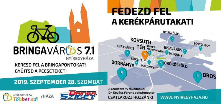 Bringaváros 7.1 – 11 városrészt és a Kossuth teret köti össze a családi sportrendezvény