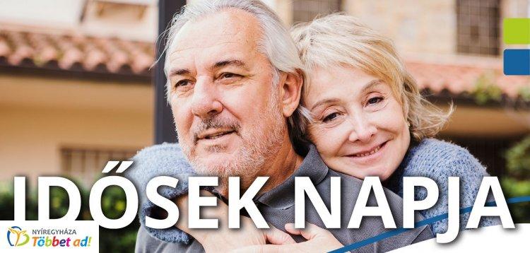 Idősek Napja - négy helyszínen ünneplik az időseket Nyíregyházán