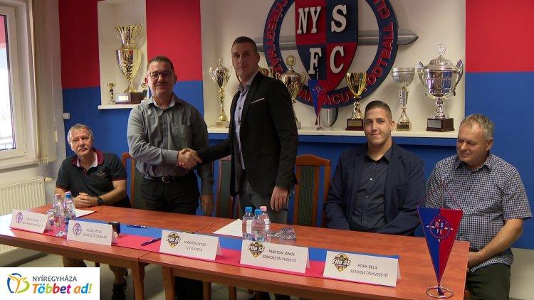 Együttműködési megállapodás - szerződést kötött a két nyíregyházi fociklub