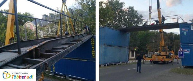 Hihetetlen! Néhány óra alatt hidat építettek Sóstóra – Extrém hétvége lesz!