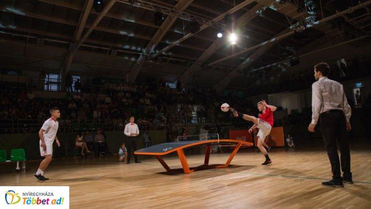 Teqball All Stars – A legendák összecsapása Nyíregyházán, a Continental Arénában