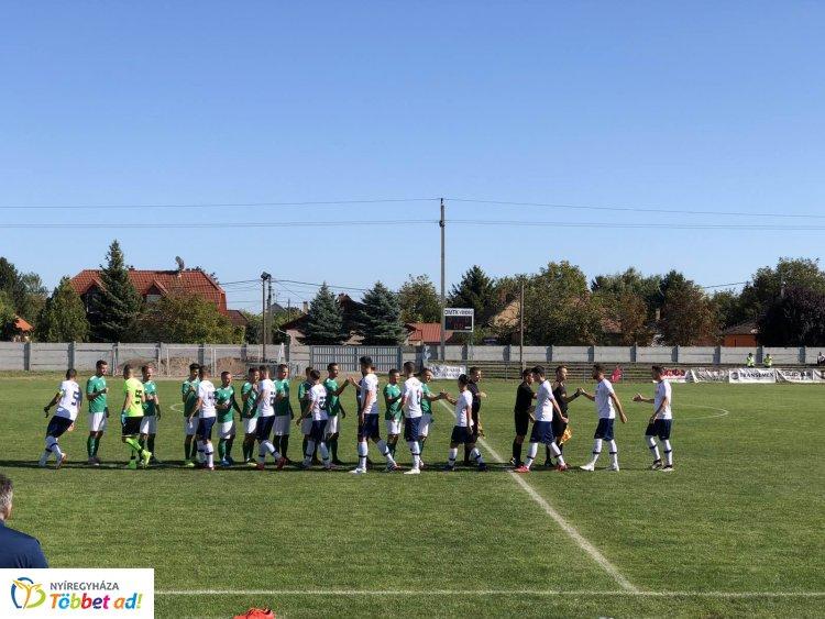 Továbbjutás - győzött a labdarúgó Magyar Kupában a Nyíregyháza Spartacus