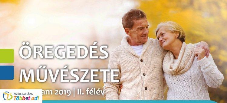 """Folytatódik az """"Öregedés Művészete"""" - 2019.  II. félévi program"""
