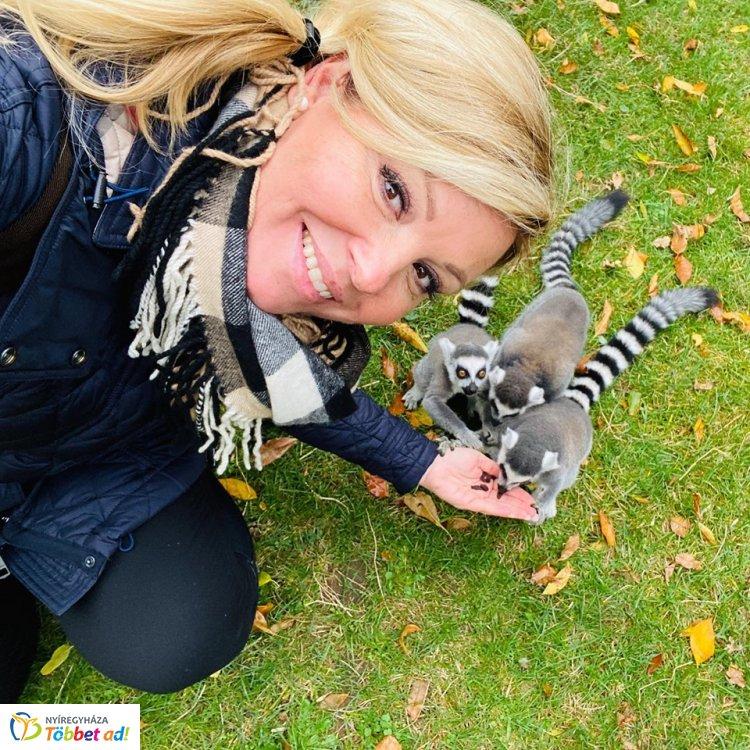 Liptai Claudiát és családját is lenyűgözte a Nyíregyházi Állatpark - Ezt írta róla