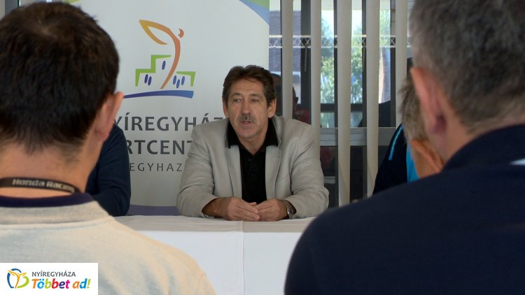 Mesteredző segíti a Sportcentrum munkáját - Vajda Tamás  visszatért Nyíregyházára