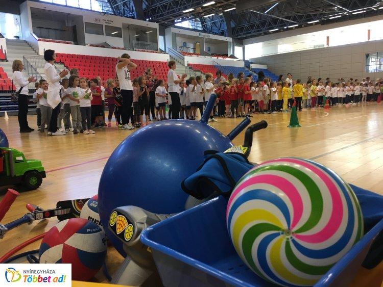 Óvodások Játékos Fesztiválja - több mint háromszáz gyerek versenyzett az Arénában