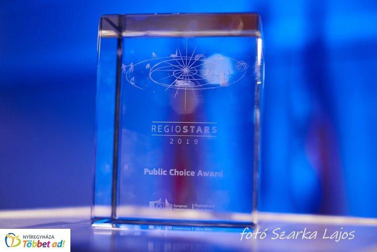 Brüsszeli elismerés Nyíregyházának is! -A CityWalk projekt nyerte az európai közönségdíjat