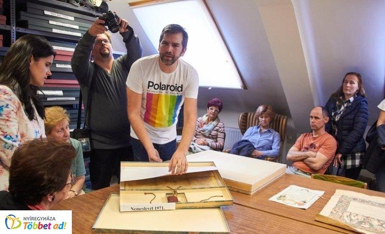 Arcok és könyvek a történelemtudomány műhelyéből címmel tartottak ma előadást