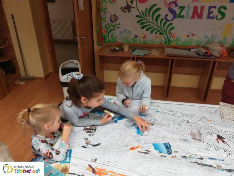 Szinyei családi napot tartottak a Jósa András Múzeumban – Óriás-kollázs készült!