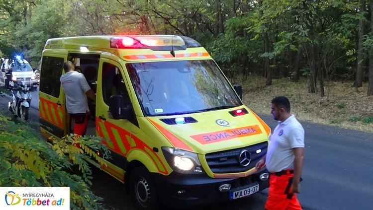 Baleset történt hétfő délután Nagykálló és Nyíregyháza között, kórházban a két sofőr