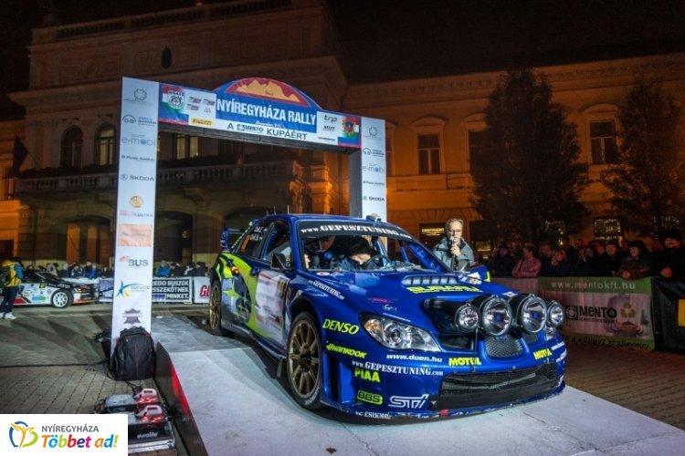 Az útlezárások nem érintik majd a körutat a Rally Európa-bajnokság idején