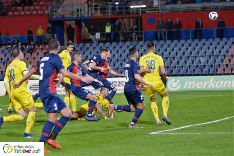 Vereség hazai pályán - elvitte a Gyirmót a pontokat Nyíregyházáról