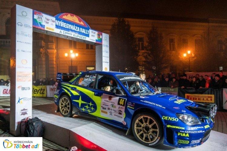 Már Nyíregyházán Európa legjobbjai - csütörtökön gépátvétellel kezdődik a Rally EB futam
