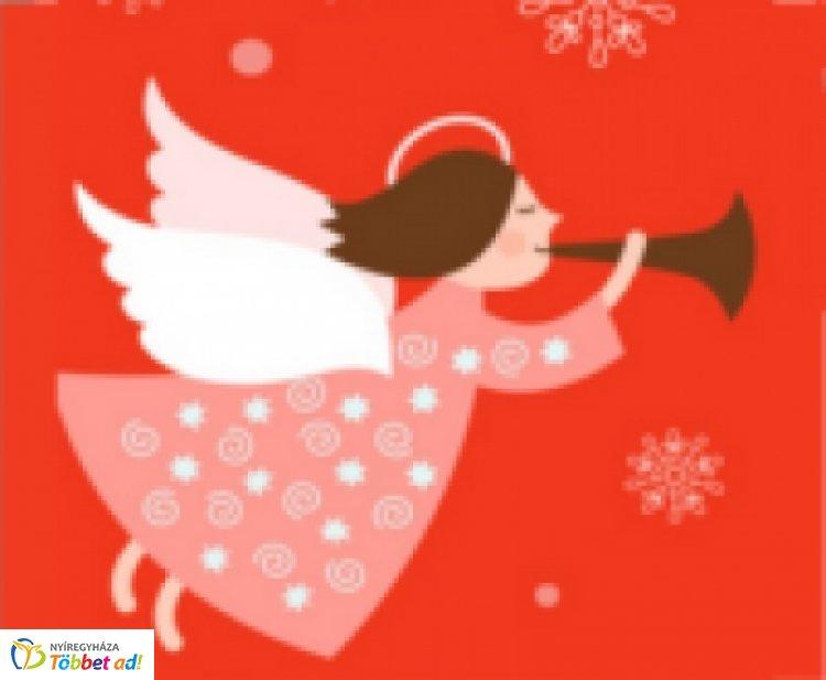 Karácsonyi Szaloncukor Angyal - A Vöröskereszt szaloncukrot vásárol az adományokból