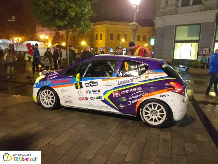 Hivatalosan is elrajtolt a Rally Európa-bajnokság Nyíregyházán