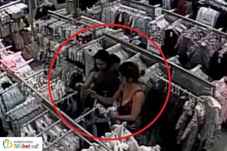 Ruhaneműket loptak egy nyíregyházi bevásárlóközpont üzletéből