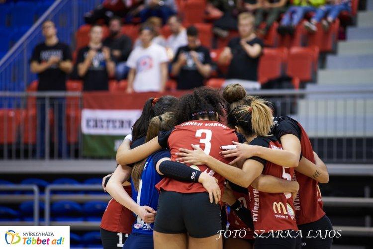 Ötből öt - az Újpestet is legyőzte a Fatum Nyíregyháza a női röplabda bajnokságban