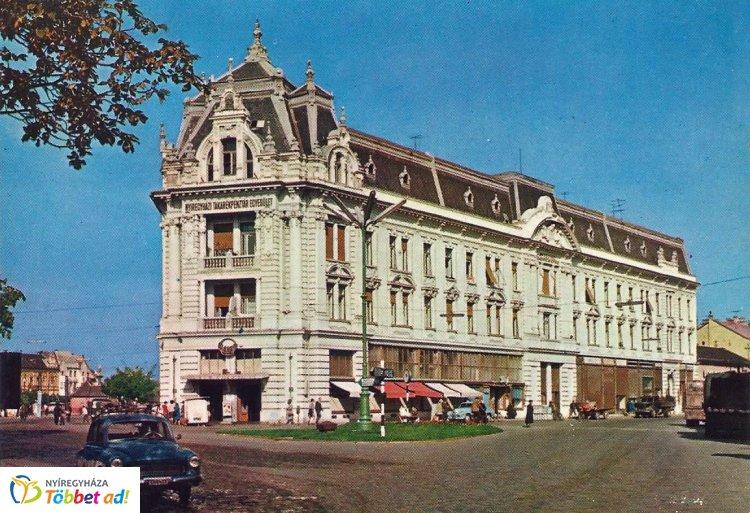 Retró Nyíregyháza sorozat 11. rész - A Takarékpénztár épülete 1966-ban