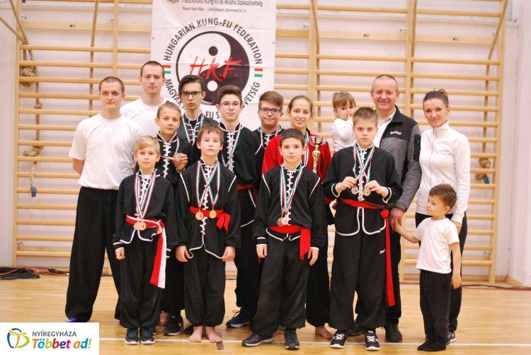 Öt arany a Kung-fu országos bajnokságról - jól szerepelt a Spirit SE a versenyen