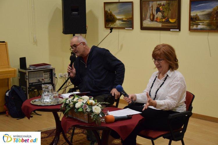 Darvasi László József Attila-díjas író mutatta be legújabb könyvét a könyvtárban