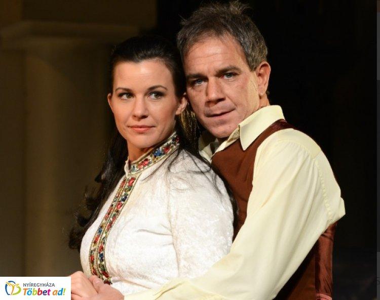 A bolondok grófja - az Újszínház előadása Nyíregyházán, a VMKK-ban