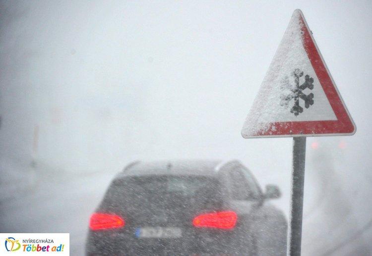 Havazásra, ónos esőre figyelmeztet a meteorológiai szolgálat