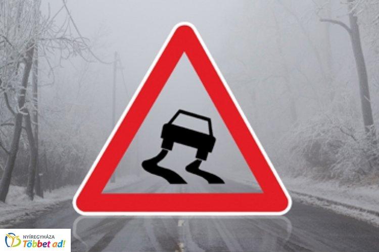 Hó, hófúvás, ónos eső – Megváltozott útviszonyokra figyelmeztet a rendőrség