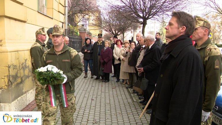 A Székely Hadosztály megalakulásának évfordulójára emlékeztek Nyíregyházán