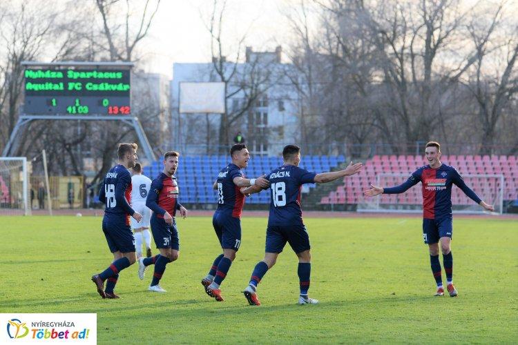 Három nyíregyházi játékos a forduló válogatottjában - Jova Levente a forduló legjobbja