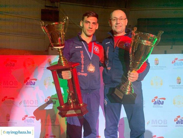 Kovács Richárd visszahódította címét - magyar bajnok lett az NYVSC ökölvívója