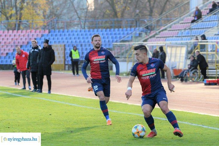 Négy góllal búcsúzott hazai közönségétől a Nyíregyháza Spartacus