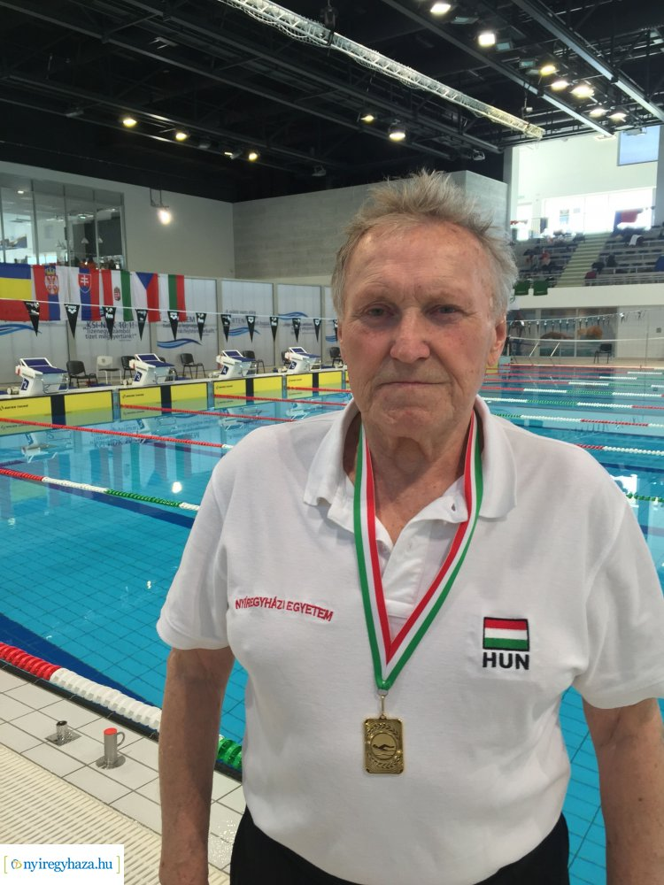 Évzáró Kupa - a Nyírsenior 97 SE úszói is remekeltek Budapesten