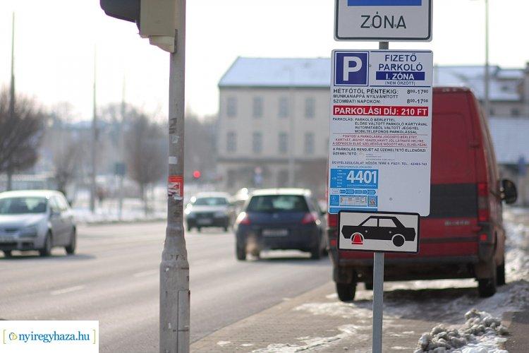 Már csak jövő hét péntekig kell fizetni a parkolásért Nyíregyházán – jelentette be a NYÍRVV