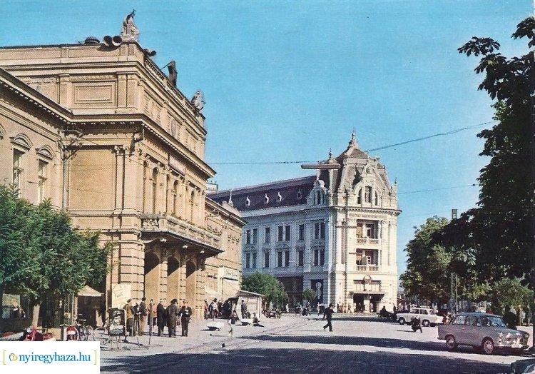 Retró Nyíregyháza sorozat 12. rész - A Kossuth tér 1966-ban