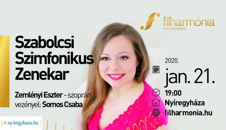 Filharmónia Szezonbérlet - a Szabolcsi Szimfonikus Zenekar koncertje