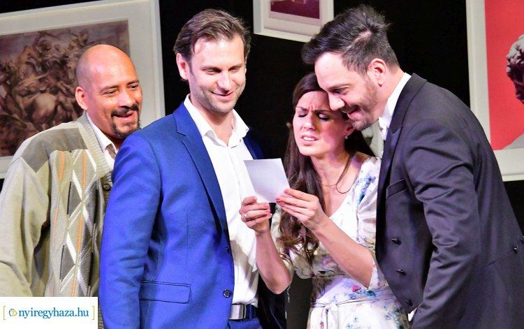 Hogyan nevezzelek? - a Veres1 Színház előadása a Váci Mihály Kulturális Központban