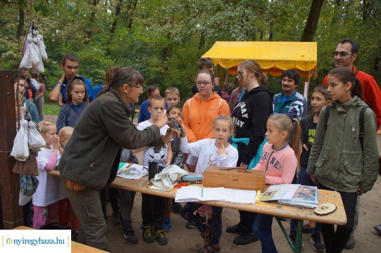Rekordév a fennállásának tizedik évfordulóját ünneplő nyíregyházi erdei iskolában