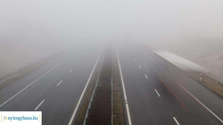 Tartós köd mellett ónos szitálás is előfordulhat – Megyénkben is!