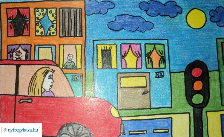 Gyermekrajzpályázat a biztonságos közlekedésről – Május 1-ig várják a pályamunkákat