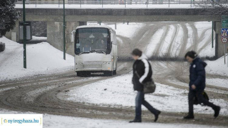 Vezetés télen – Hogyan változik a féktávolság? Íme néhány tanács a jeges utakra!