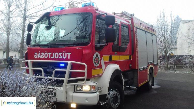 Tűz ütött ki a nyíregyházi Göllesz Viktor Szakiskolában, senki nem sérült meg