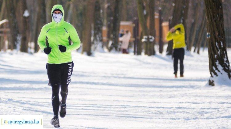 Futás a mínuszokban – Mire figyeljenek a szabadban sportolók?
