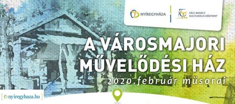 Valentin-napi koncert, farsangi retrobuli februárban a Városmajori Művelődési Házban