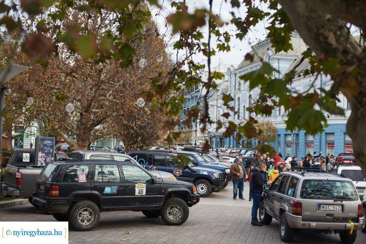 Legend rally Nyíregyházán – Évadzáró futam, terepjárókkal