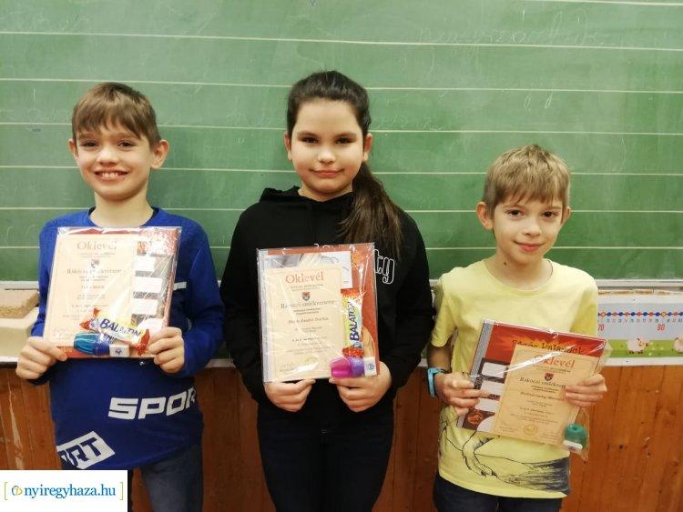 Bemes kisdiákok országos sikere a Rákóczi emlékversenyen – Gratulálunk!