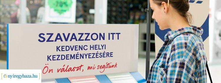 Nyíregyházi civil szervezeteket támogathatunk az egyik legnagyobb áruházlánc programjában