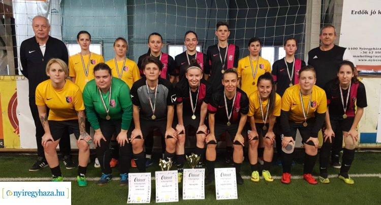 Teremfoci - hazai győzelem a X. Nyírség Kupa női labdarúgó tornán