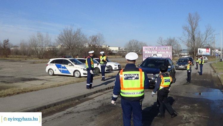 Ittasság-ellenőrzés a Debreceni úton – A cél az ittas vezetők kiszűrése!