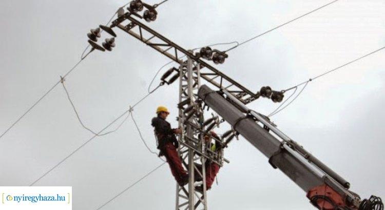 Mutatjuk, hogy hol kell tervezett áramszünettel számolni jövőhét hétfőn