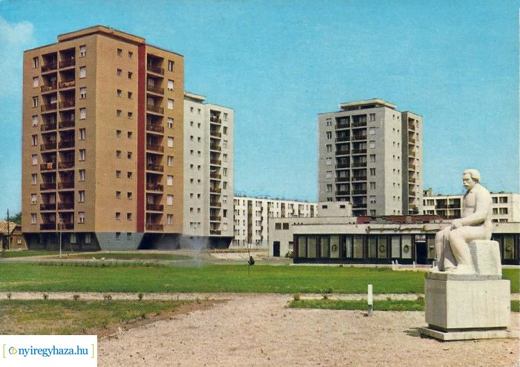 Retró Nyíregyháza sorozat 17. rész -Az Északi lakótelep és Móricz Zsigmond szobra 1969-ben